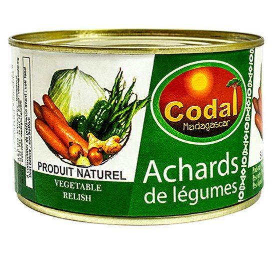 Achards de Légumes 400g