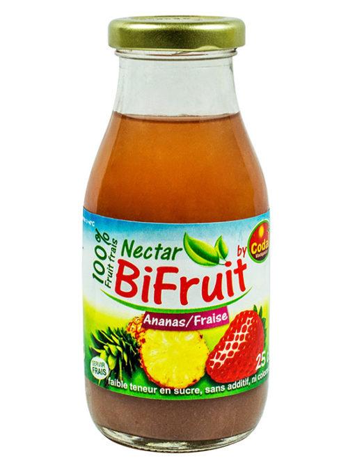 Bifruit: Ananas / Fraise