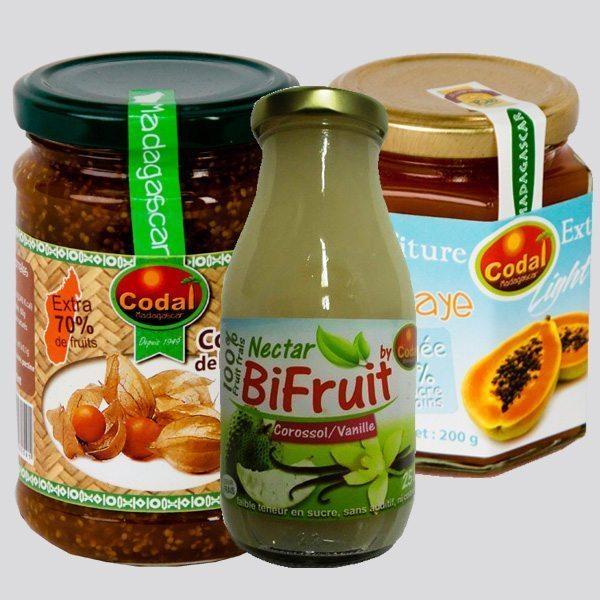 Nos produits à base de fruits préparés