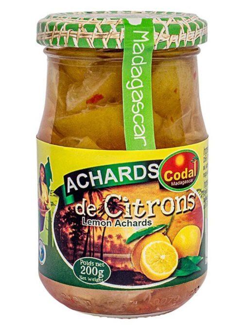 Achards de Citrons