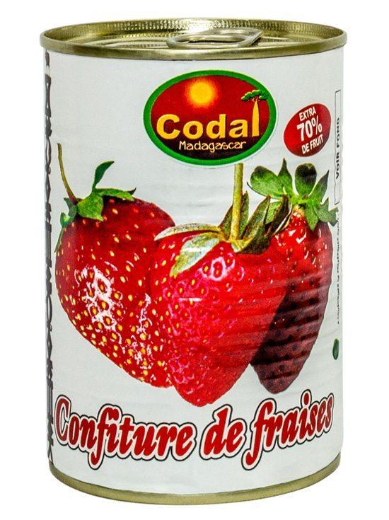 confiture de fraise 500g
