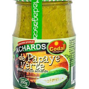 Achard de Papaye Verte