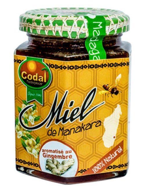Miel aromatise à la gingembre