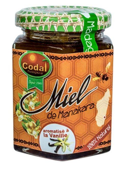 Miel aromatise à la vanille