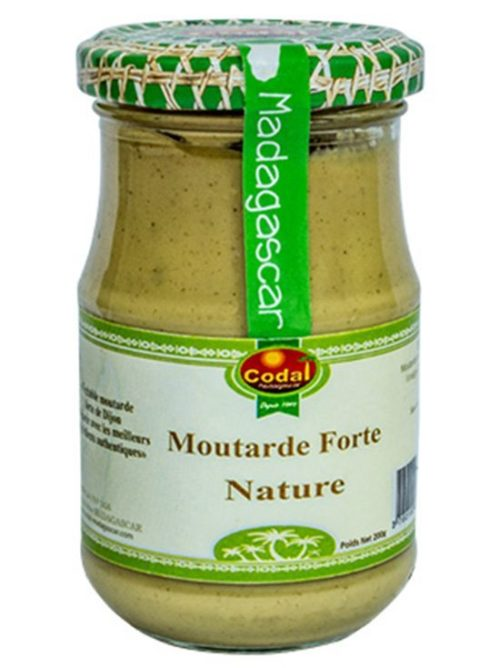 Moutarde forte nature 200g