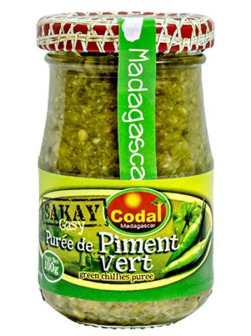 Purée de Piment Vert (100g)
