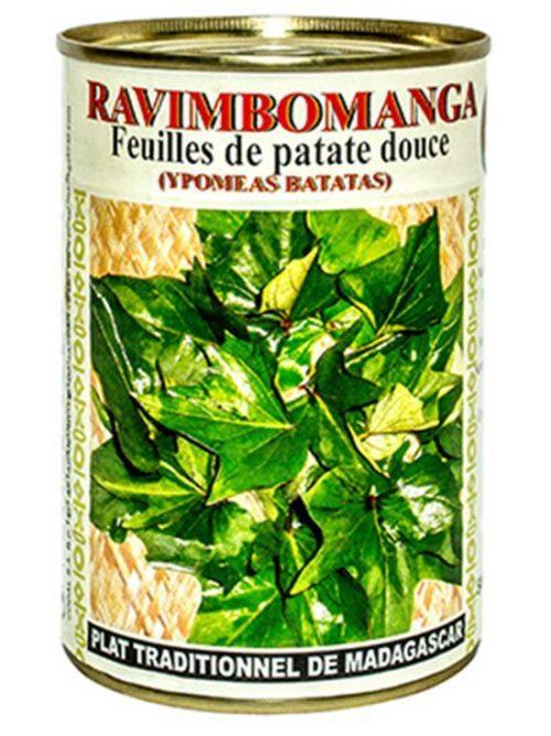 Feuilles de patates douces : Ravimbomanga