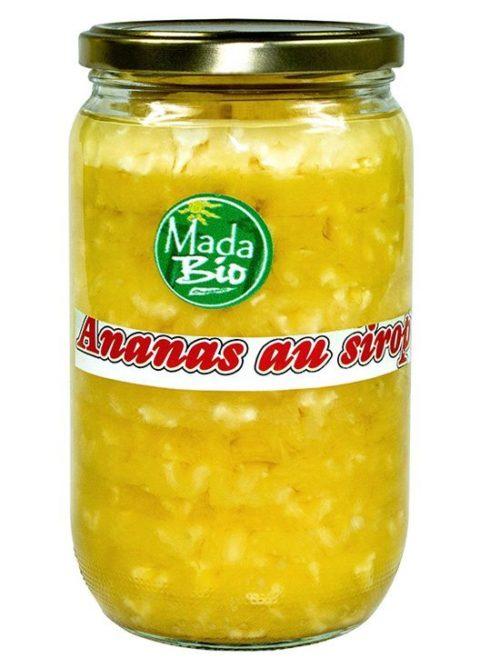 Ananas au sirop en Morceaux