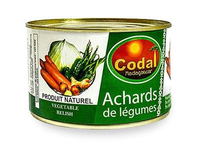 Achards-125g