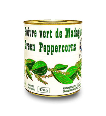 Green pepper 870g