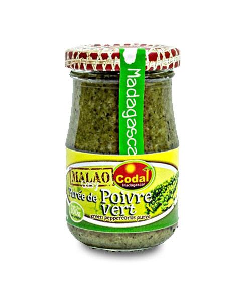Mashed green pepper